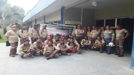 Equipe da TGL unidade de Xambioá participando do evento