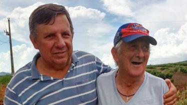 Realizando o sonho do Sr. Luiz José. Visitando seus antigos companheiros e patrões na Comunidade das Águas. EMOCIONANTE